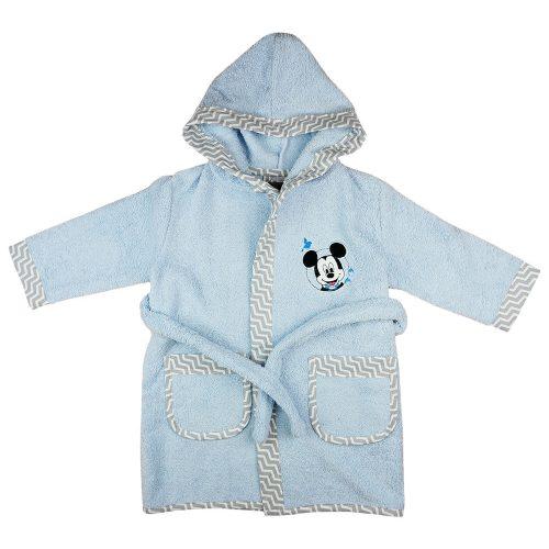 Disney Mickey kapucnis frottír köntös