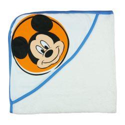 Disney Mickey kapucnis törölköző 100x100 cm