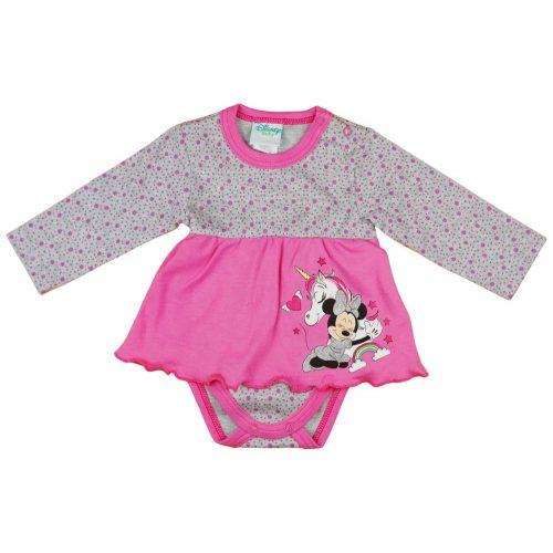 Disney Minnie szoknyás baba body pink