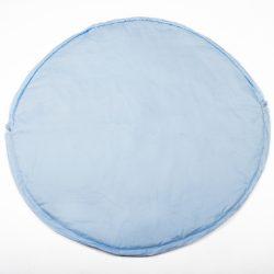 Kék pöttyös 2in1 játszószőnyeg és játéktároló