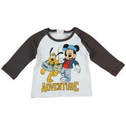 "Disney Mickey és Plútó ""Adventure"" hosszú ujjú fiú póló"