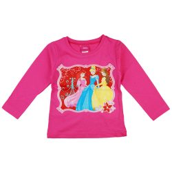 Disney Princess/ Hercegnők hosszú ujjú lányka póló