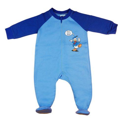 Disney Donald kacsa| belül bolyhos overálos pizsama