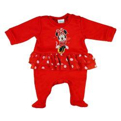 Disney Minnie szoknyás karácsonyi rugdalózó