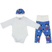 """Disney Mickey """"Be happy"""" 3 részes baba szett"""