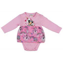 Disney Minnie és unikornis szoknyás baba body