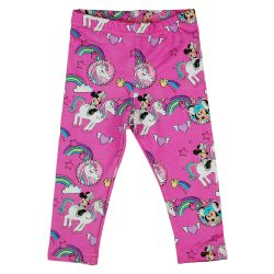 Disney Minnie és az unikornis pamut elasztikus leggings
