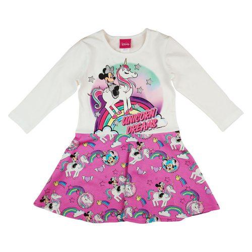 Disney Minnie és unikornis| hosszú ujjú lányka ruha