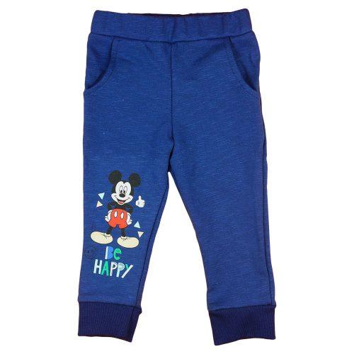 """Disney Mickey """"Be happy"""" pamut szabadidő nadrág"""