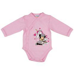 Disney Minnie és az unikornis hosszú ujjú baba body