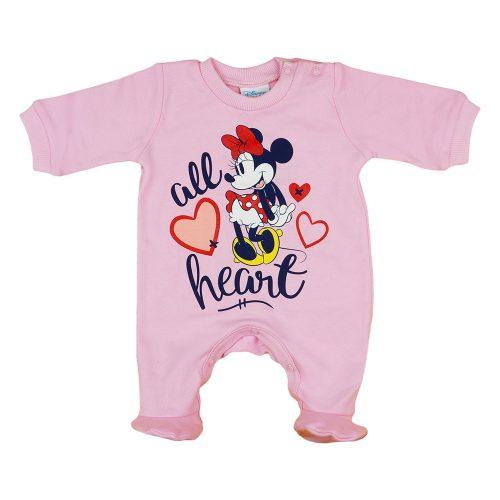 Disney Minnie hosszú ujjú rugdalózó