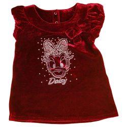 Disney Daisy kacsa ujjatlan bársony ruha