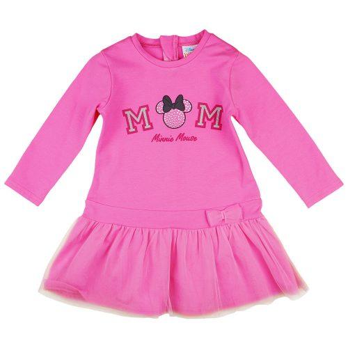 """Disney Minnie """"Mom"""" hosszú ujjú kislány ruha"""