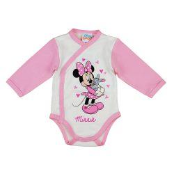 Disney Minnie nyuszis hosszú ujjú baba body