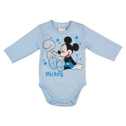 Disney Mickey mókusos hosszú ujjú baba body
