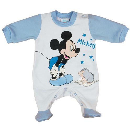 Disney Mickey mókusos belül bolyhos rugdalózó