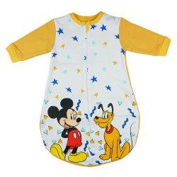 Disney Mickey és Plútó belül bolyhos pamut hosszú ujjú hálózsák 2,5 TOG