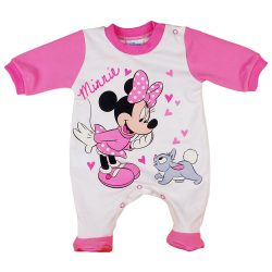 Disney Minnie nyuszis hosszú ujjú rugdalózó