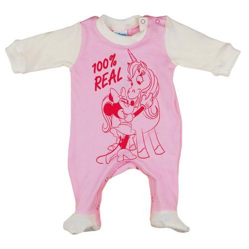 Disney Minnie hosszú ujjú pamut rugdalózó
