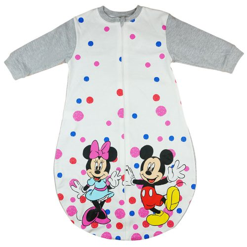 Disney Minnie  Mickey  hosszú ujjú  vékony pamut hálózsák 1 5 TOG