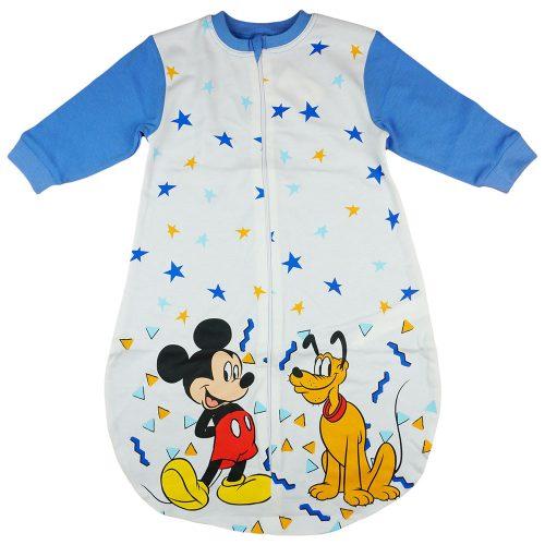 Disney Mickey és Plútó  hosszú ujjú vékony pamut hálózsák 1 5 TOG