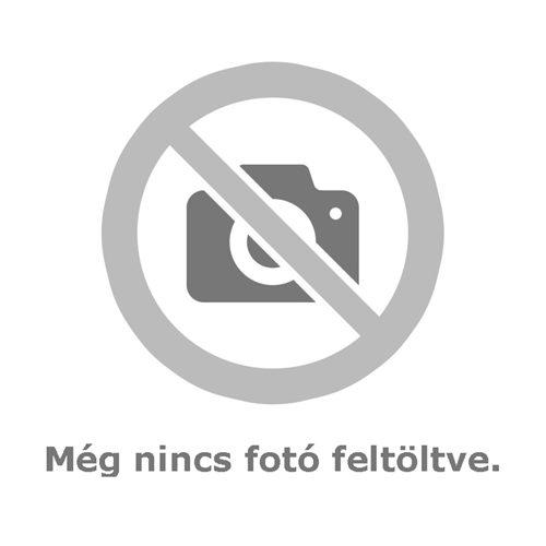 Fehér elöl patentos hosszú ujjú baba body fehér