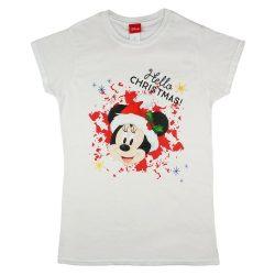 Disney Minnie karácsonyi lányka póló