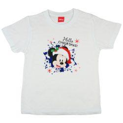 Disney Mickey karácsonyi fiú póló