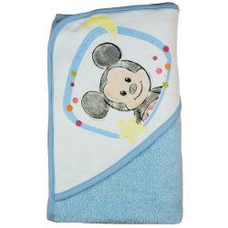 "Disney Mickey ""rajzos"" kapucnis frottír törölköző 70x90cm"
