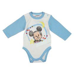 Disney Mickey hosszú ujjú baba body