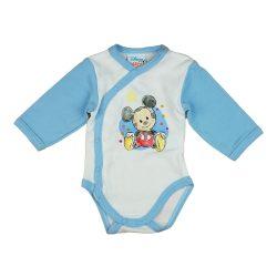 Disney Mickey rajzos hosszú ujjú baba body