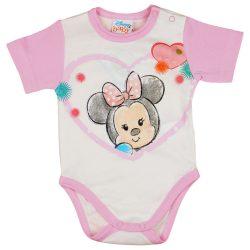 """Disney Minnie """"rajzos"""" hosszú ujjú baba body"""