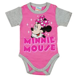 Disney Minnie rövid ujjú baba body