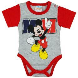 Disney Mickey rövid ujjú baba body