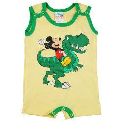 Disney Mickey dínós ujjatlan baba napozó