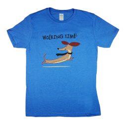 """""""Walking time"""" tacskós rövid ujjú férfi póló"""