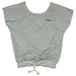 Mini&Me kerek nyakú hasban húzott női póló