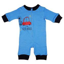 Autós overálos baba pizsama
