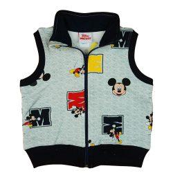 Disney Mickey elöl cipzáras pamut mellény