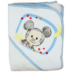 "Disney Mickey ""rajzos"" kapucnis frottír törölköző 100x100cm"