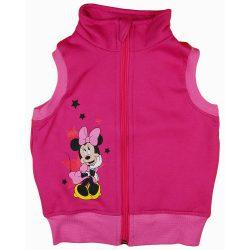 Disney Minnie csillagos, belül bolyhos mellény