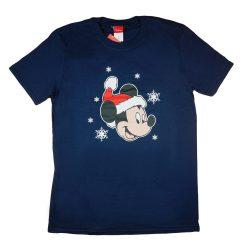 Disney Mickey karácsonyi férfi póló