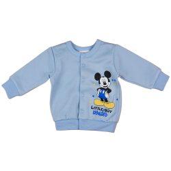 Disney Mickey belül bolyhos baba kocsikabát/kardigán