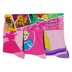 Disney Princess/Hercegnők 3db-os vastag lányka zokni szett