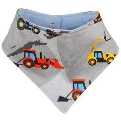 Traktor mintás babasál- nyálkendő