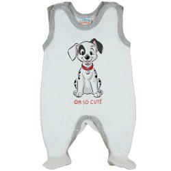 Ujjatlan baba rugdalózó 101 kiskutya mintával