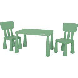 FreeON műanyag asztal 2 db Janus székkel