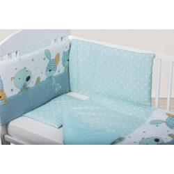 Bubaba 3 részes ágynemű szett - Kék nyuszi