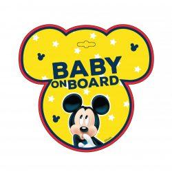 Apollo Seven Disney Baby on board tábla - Mickey