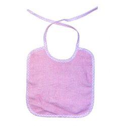 BabyLion frottír előke - rózsaszín